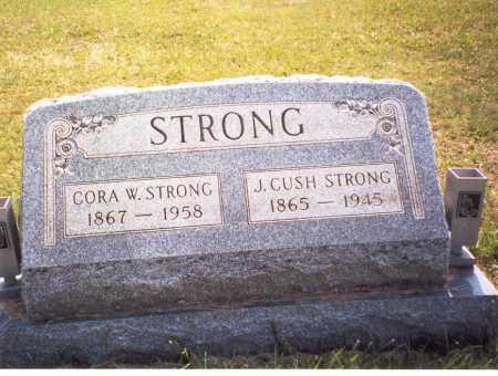 STRONG, CORA W. - Gallia County, Ohio | CORA W. STRONG - Ohio Gravestone Photos