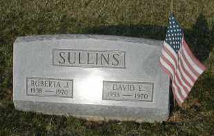 SULLINS, DAVID E. - Gallia County, Ohio | DAVID E. SULLINS - Ohio Gravestone Photos