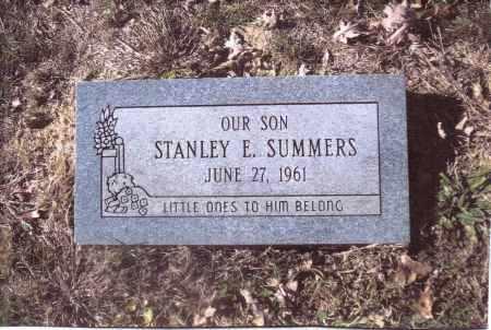 SUMMERS, STANLEY E. - Gallia County, Ohio   STANLEY E. SUMMERS - Ohio Gravestone Photos