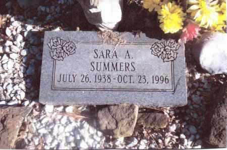 SUMMERS, SARA A. - Gallia County, Ohio   SARA A. SUMMERS - Ohio Gravestone Photos