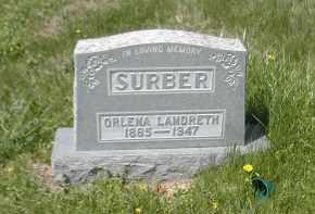 SURBER, ORLENA - Gallia County, Ohio | ORLENA SURBER - Ohio Gravestone Photos