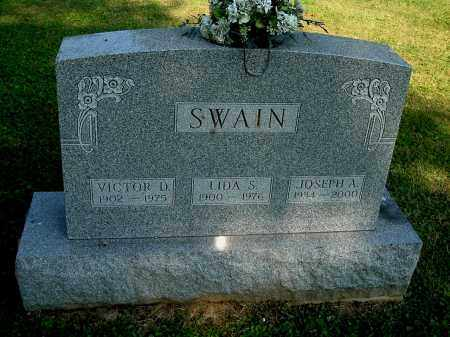 SWAIN, VICTOR D - Gallia County, Ohio | VICTOR D SWAIN - Ohio Gravestone Photos