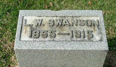 SWANSON, LEONIDAS WILLIAM - Gallia County, Ohio   LEONIDAS WILLIAM SWANSON - Ohio Gravestone Photos