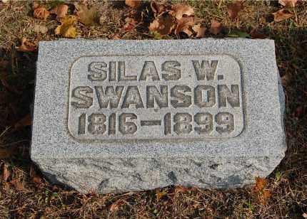 SWANSON, SILAS W - Gallia County, Ohio | SILAS W SWANSON - Ohio Gravestone Photos