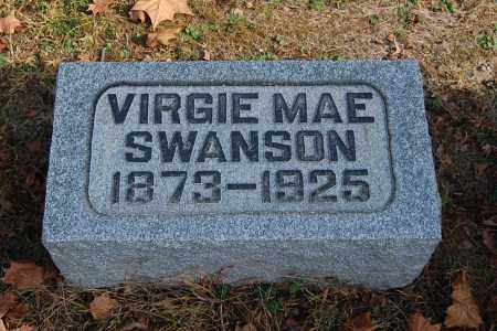 SWANSON, VIRGIE MAE - Gallia County, Ohio | VIRGIE MAE SWANSON - Ohio Gravestone Photos