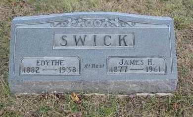 SWICK, EDYTHE - Gallia County, Ohio | EDYTHE SWICK - Ohio Gravestone Photos