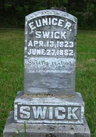 SWICK, EUNICE R. - Gallia County, Ohio | EUNICE R. SWICK - Ohio Gravestone Photos