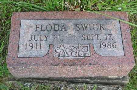 SWICK, FLODA - Gallia County, Ohio | FLODA SWICK - Ohio Gravestone Photos