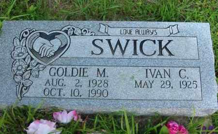 SWICK, IVAN C. - Gallia County, Ohio | IVAN C. SWICK - Ohio Gravestone Photos