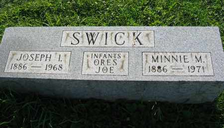 SWICK, ORES  (INFANT) - Gallia County, Ohio | ORES  (INFANT) SWICK - Ohio Gravestone Photos
