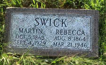 SWICK, REBECCA - Gallia County, Ohio | REBECCA SWICK - Ohio Gravestone Photos