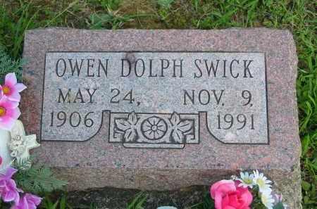 SWICK, OWEN DOLPH - Gallia County, Ohio | OWEN DOLPH SWICK - Ohio Gravestone Photos