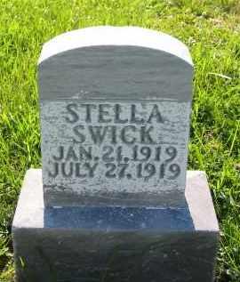 SWICK, STELLA - Gallia County, Ohio | STELLA SWICK - Ohio Gravestone Photos