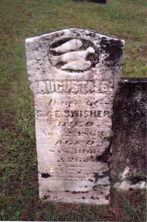 SWISHER, AUGUSTA E. - Gallia County, Ohio   AUGUSTA E. SWISHER - Ohio Gravestone Photos