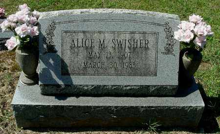 SWISHER, ALICE M - Gallia County, Ohio | ALICE M SWISHER - Ohio Gravestone Photos