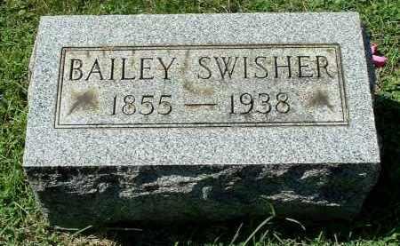 SWISHER, BAILEY - Gallia County, Ohio | BAILEY SWISHER - Ohio Gravestone Photos