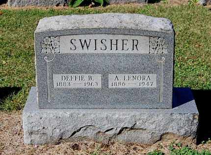 SWISHER, DEFFIE B - Gallia County, Ohio | DEFFIE B SWISHER - Ohio Gravestone Photos