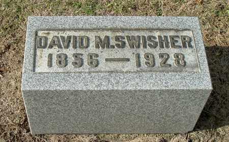 SWISHER, DAVID M - Gallia County, Ohio   DAVID M SWISHER - Ohio Gravestone Photos