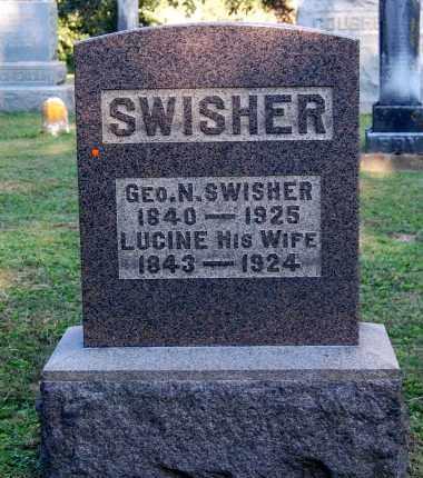 SWISHER, GEORGE N - Gallia County, Ohio   GEORGE N SWISHER - Ohio Gravestone Photos