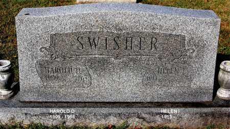 SWISHER, HAROLD D - Gallia County, Ohio | HAROLD D SWISHER - Ohio Gravestone Photos