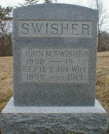 SCOTT SWISHER, EFFIE - Gallia County, Ohio   EFFIE SCOTT SWISHER - Ohio Gravestone Photos