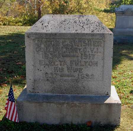 SWISHER, JACOB C - Gallia County, Ohio | JACOB C SWISHER - Ohio Gravestone Photos