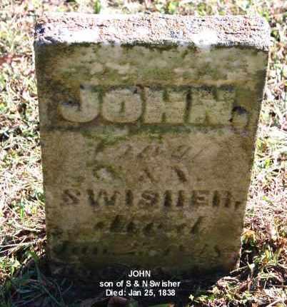SWISHER, JOHN - Gallia County, Ohio | JOHN SWISHER - Ohio Gravestone Photos