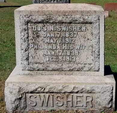 SWISHER, PHILANDA - Gallia County, Ohio | PHILANDA SWISHER - Ohio Gravestone Photos