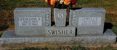 SWISHER, GERALDINE R - Gallia County, Ohio   GERALDINE R SWISHER - Ohio Gravestone Photos