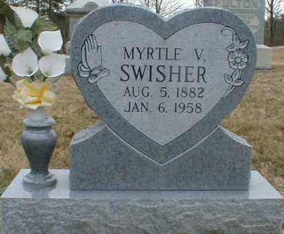 SWISHER, MYRTLE - Gallia County, Ohio   MYRTLE SWISHER - Ohio Gravestone Photos