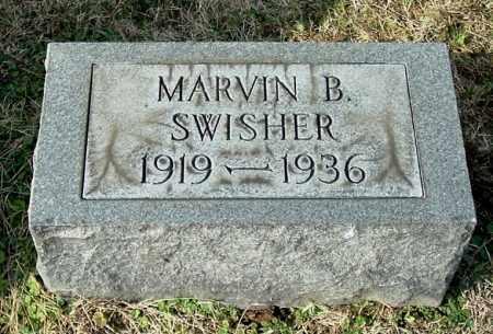 SWISHER, MARVIN B - Gallia County, Ohio | MARVIN B SWISHER - Ohio Gravestone Photos