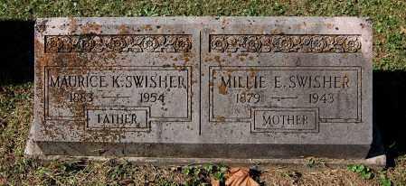 SWISHER, MILLIE E - Gallia County, Ohio | MILLIE E SWISHER - Ohio Gravestone Photos