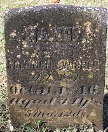 SWISHER, NANCY - Gallia County, Ohio | NANCY SWISHER - Ohio Gravestone Photos