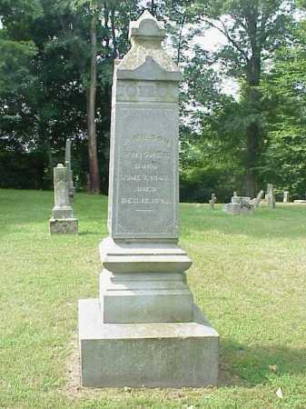 SWISHER, P. WILSON - Gallia County, Ohio | P. WILSON SWISHER - Ohio Gravestone Photos