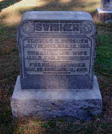 SWISHER, FRANK J - Gallia County, Ohio | FRANK J SWISHER - Ohio Gravestone Photos