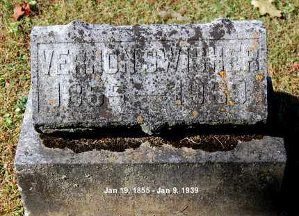 SWISHER, VERNON - Gallia County, Ohio | VERNON SWISHER - Ohio Gravestone Photos