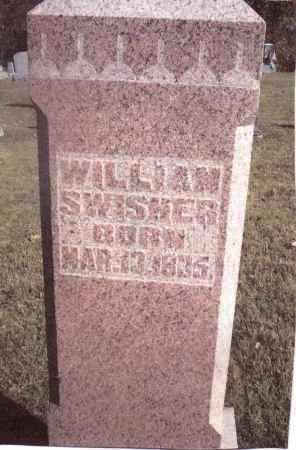 SWISHER, WILLIAM - Gallia County, Ohio | WILLIAM SWISHER - Ohio Gravestone Photos