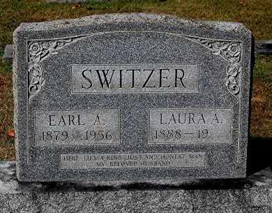SWITZER, LAURA A - Gallia County, Ohio | LAURA A SWITZER - Ohio Gravestone Photos