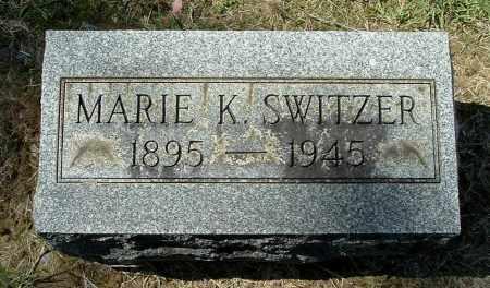 SWITZER, MARIE K - Gallia County, Ohio   MARIE K SWITZER - Ohio Gravestone Photos