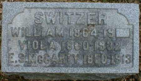 MCCARTY SWITZER, VIOLA - Gallia County, Ohio   VIOLA MCCARTY SWITZER - Ohio Gravestone Photos