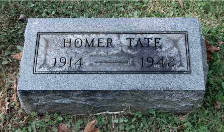 TATE, HOMER - Gallia County, Ohio | HOMER TATE - Ohio Gravestone Photos