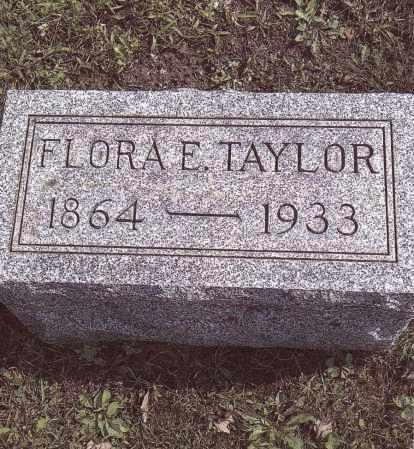 TAYLOR, FLORA E.. - Gallia County, Ohio | FLORA E.. TAYLOR - Ohio Gravestone Photos