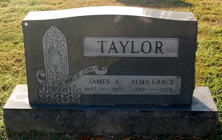 TAYLOR, ALMA GRACE - Gallia County, Ohio   ALMA GRACE TAYLOR - Ohio Gravestone Photos