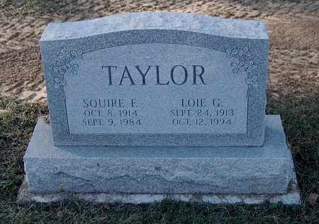 TAYLOR, SQUIRE F - Gallia County, Ohio | SQUIRE F TAYLOR - Ohio Gravestone Photos
