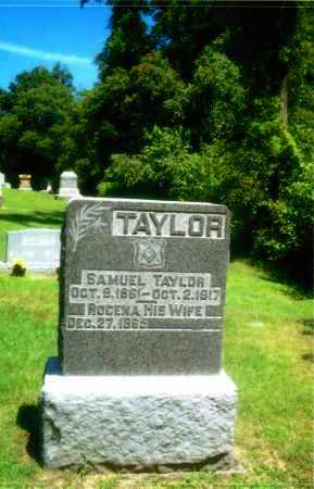 RUMFIELD TAYLOR, ROCENA - Gallia County, Ohio   ROCENA RUMFIELD TAYLOR - Ohio Gravestone Photos