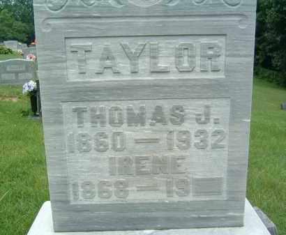 TAYLOR, THOMAS J. - Gallia County, Ohio   THOMAS J. TAYLOR - Ohio Gravestone Photos
