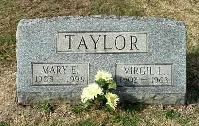 TAYLOR, MARY E - Gallia County, Ohio | MARY E TAYLOR - Ohio Gravestone Photos