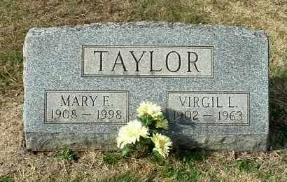 TAYLOR, VIRGIL L - Gallia County, Ohio | VIRGIL L TAYLOR - Ohio Gravestone Photos