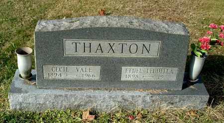 THAXTON, ETHEL LEUDELLA - Gallia County, Ohio | ETHEL LEUDELLA THAXTON - Ohio Gravestone Photos