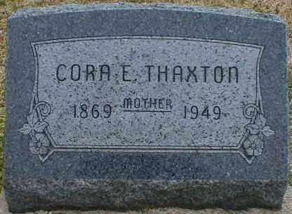 THAXTON, CORA - Gallia County, Ohio | CORA THAXTON - Ohio Gravestone Photos